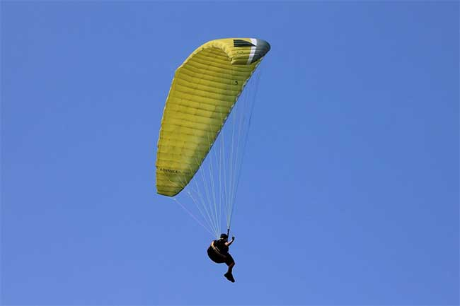 does paragliding cause motion sickness