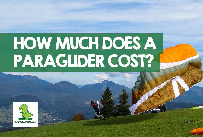 How much does a paragliding rig cost