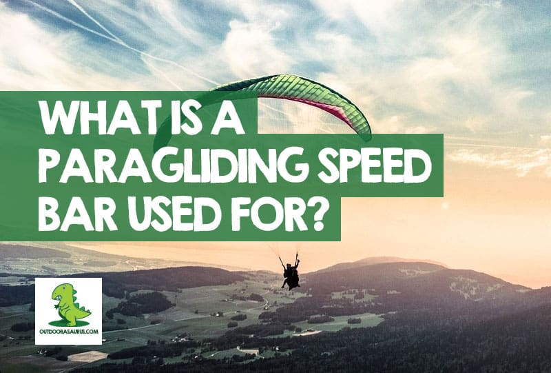 what is a paraglider speed bar