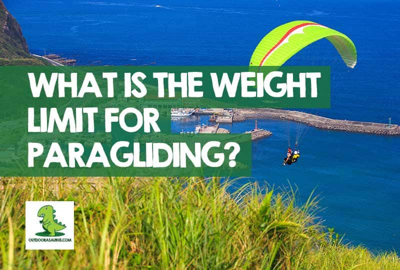 paragliding weight limit