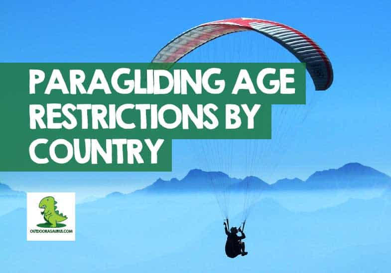 how old do you have to be to paraglide