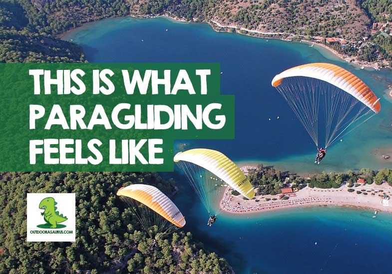 what does paragliding feel like