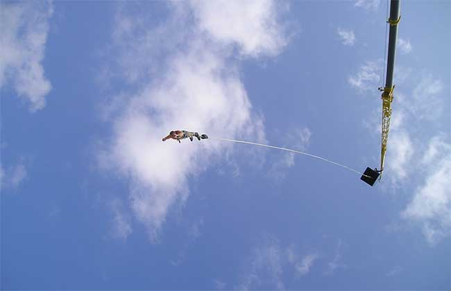 who invented the bungee jump