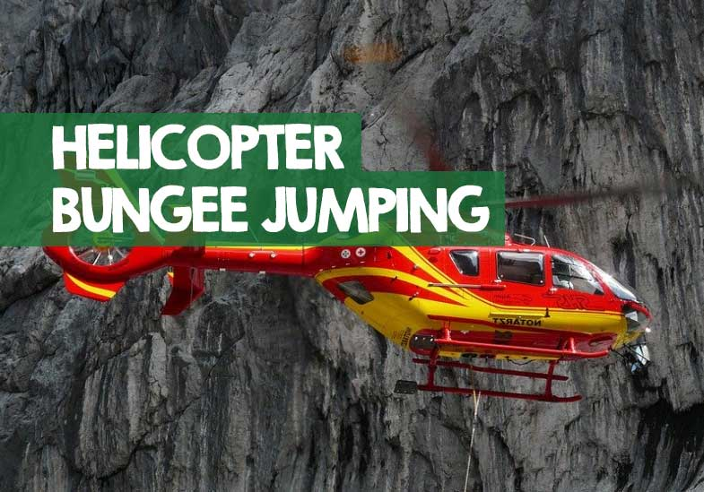 bungee jump from a helicopter