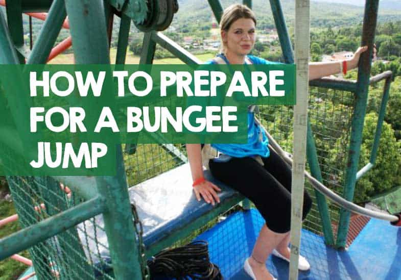 how do you prepare for bungee jumping