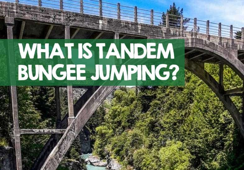 what is tandem bungee jumping